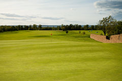 Seaside golf course Royalty Free Stock Image