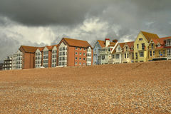 Seaside guest houses Stock Image