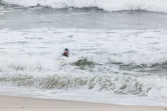 Seaside Heights Surfers Royalty Free Stock Photography