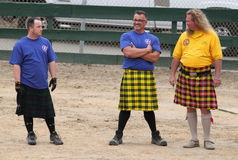 Seaside Highland Games Stock Photo