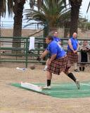 Seaside Highland Games Royalty Free Stock Image
