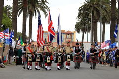Seaside Highland Games Royalty Free Stock Images