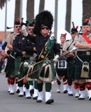 Seaside Highland Games Stock Photography