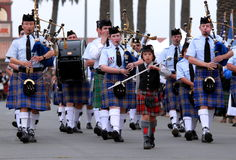 Seaside Highland Games Stock Photos