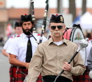 Seaside Highland Games Royalty Free Stock Photography