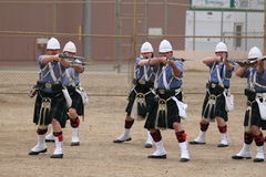 Seaside Highland Games Royalty Free Stock Photo