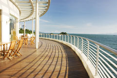 Seaside holiday flats. Guangdong Province in China, a seaside holiday house, Tens full sea view you can see Royalty Free Stock Photo