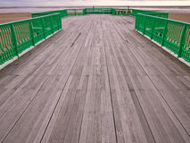 Seaside Holiday Pier, England Stock Photos