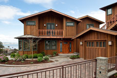 Seaside Home Stock Photo