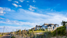 Seaside House stock photo