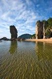 Seaside idyll. Royalty Free Stock Image