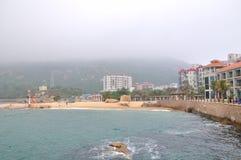 Seaside inn Royalty Free Stock Photos