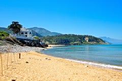 Seaside Jijel, Algeria. Mediterranean sea with forest and mountain, Jijel, Algeria Stock Image