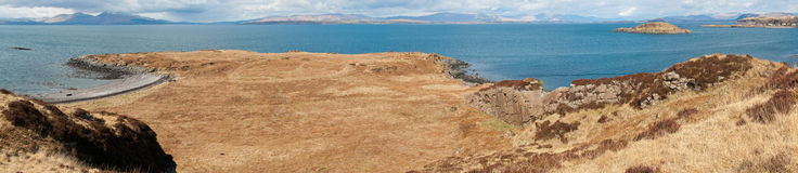 Seaside landscape Stock Photography