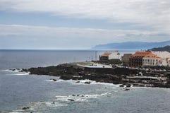 Seaside landscape of Tenerife Royalty Free Stock Photography