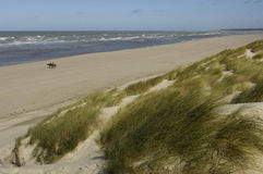 Seaside of Le Touquet Paris Plage in Nord Pas de Calais Royalty Free Stock Image