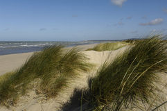Seaside of Le Touquet Paris Plage in Nord Pas de Calais Stock Images