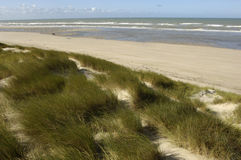 Seaside of Le Touquet Paris Plage in Nord Pas de Calais Stock Photo