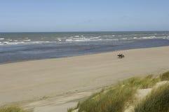 Seaside of Le Touquet Paris Plage in Nord Pas de Calais Royalty Free Stock Images