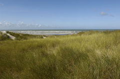 Seaside of Le Touquet Paris Plage in Nord Pas de Calais Royalty Free Stock Photos