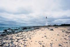 Seaside lighthouse Royalty Free Stock Images