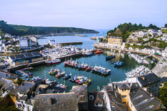 Seaside of Luarca in Spain Royalty Free Stock Photography