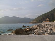 Seaside in Oludeniz Royalty Free Stock Photography