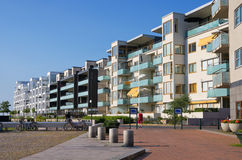 Seaside of Malmo, Sweden. Modern buildings in Western Harbor (Vastra Hamnen) district. Malmo, Sweden stock images