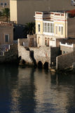 Seaside mansion, Syros island, Greece Stock Images