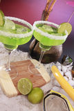 Seaside margaritas Royalty Free Stock Photography