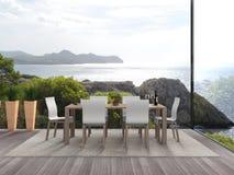 Seaside modern interior Stock Photo
