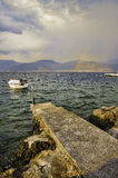 Seaside of Montenegro, Adriatic sea Stock Image