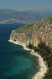 Seaside near Nafplio, Greece Royalty Free Stock Photography