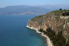 Seaside near Nafplio, Greece Stock Photography