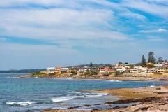 Seaside neighbourhood, suburb on sunny day. Sydney, Australia Stock Photography
