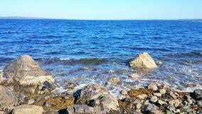 seaside No círculo polar foto de stock royalty free