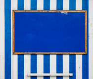 Seaside notice board.  Royalty Free Stock Image