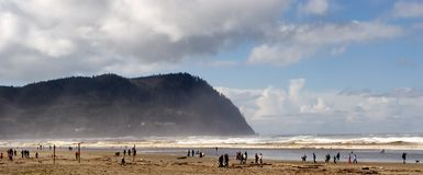 Seaside, Oregon Royalty Free Stock Images