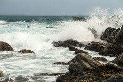 Seaside of The pacific ocean taiwan Royalty Free Stock Images