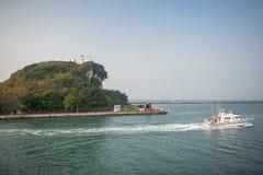 Seaside of The pacific ocean taiwan Stock Photos