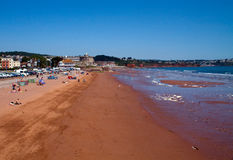 Seaside At Paignton Royalty Free Stock Images