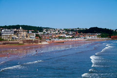 Seaside At Paignton Royalty Free Stock Photo