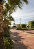 Seaside Park, Aguilas Town Royalty Free Stock Image