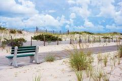 Seaside Park Boardwalk Stock Image