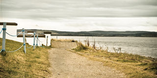 Seaside path Royalty Free Stock Image