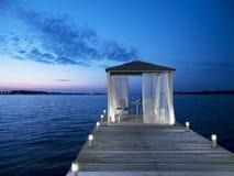 Seaside pavilion Royalty Free Stock Image