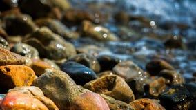 Seaside pebbles. Close up on seaside pebbles Stock Photos