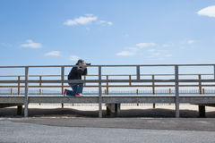 Seaside Photographer Stock Photography