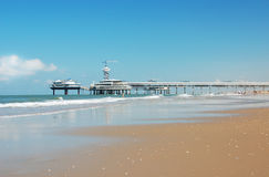 Seaside pier Stock Photography
