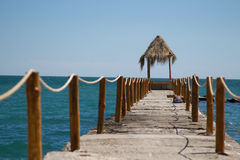 Seaside pier Royalty Free Stock Photo